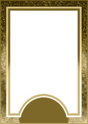 オリジナル タロットカード用 表面【金色・透過】