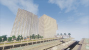 [minecraft]バスターミナルとマンション