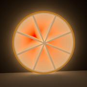 無限鏡のオレンジ