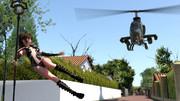 魔法少女 VS 戦闘ヘリ(AH-1 コブラ)