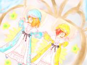 『夢見るララフェル』