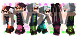【Minecraft】シオカラーズスキン【Splatoon】