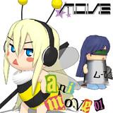 anim.o.v.e 01【MMDレコード・CDジャケットアート選手権】