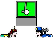 ゴルフで休みの仮面ライダードライブ・Go!プリンセスプリキュア