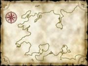 アハーン大陸西方地図