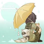 大雨のち晴れ。