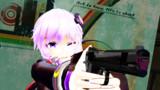【MMD】ゆかりん×拳銃