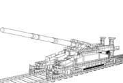 艦娘 陸戦型ビスマルク用「艤装部分」