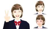 【MMDモデル配布】表情モーフ搭載エキストラ:WEP式HyperA子(テスト版)