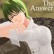 The Answer【MMDレコードCDジャケットアート選手権】