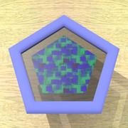 五角形コースター3
