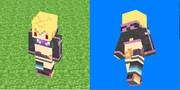 【Minecraft】盗賊ちゃんスキンサンプル【乖離性MA】