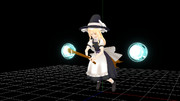 【MMD】魔法使いっぽい箒【モデル配布】