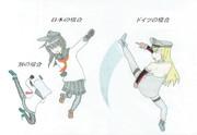 日本とドイツの対空防御はこう違う!