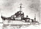 駆逐艦初春 1933