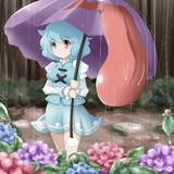 小傘と梅雨