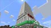 【Minecraft】 オークランドのHOTEL作ってみた