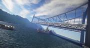 【minecraft】ちょっと橋を作りたかった。