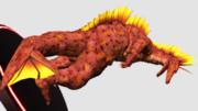 チタノザウルス:フィギュア風MMDゴジラ大図鑑22