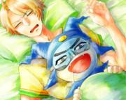 カツノリー!あんたいつまで寝てんのー!