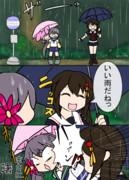 曙vsとなりの時雨
