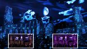【MMDステージ配布】月と廃墟 EE1【スカイドーム】