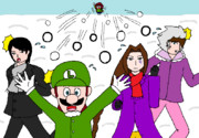 WiiFitの雪合戦にて
