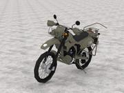 偵察用オートバイ(KLX250)