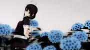 【MMD艦これ】時雨と紫陽花