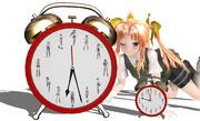 【艦これMMD】戦艦12人  ※目覚まし時計