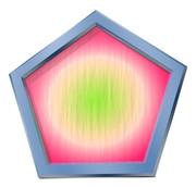 五角形コースター5
