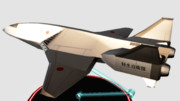 AC-3しらさぎ:フィギュア風MMDゴジラ大図鑑36