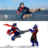 [生存報告]オオカミのヒーロー、シグナさん製作中[MMD]