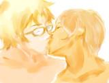 二人は幸せなキスをして仲直り