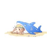 サメがはむはむしてきやがります