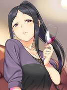 志乃さんと事務所飲み