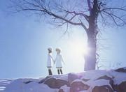 雪歩 雪歩 雪 写真合成