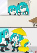 雨の日が続くヨ~・・・