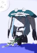 私が描いたヲ級の七夕