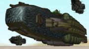 MMDオリメカ《バシリカ型貨物船》配布