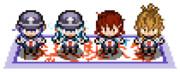 【艦これ】BWポケモントレーナー風第六駆逐隊