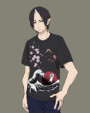 鬼灯様にしまむらの鬼太郎Tシャツ着せたかっただけ