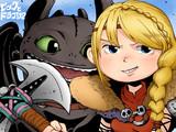 【ヒックとドラゴン】アスティとトゥース