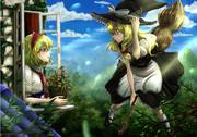 魔法の森の朝