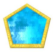 五角形コースター12
