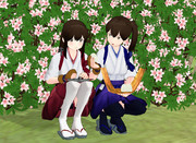 【MMD】加賀と赤城の神隠し お食べ…ごはんを食べてなかったでしょバージョン【たむたむ式】