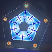 五角形コースター16