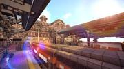 【Minecraft】ターミナル駅【英語を勉強できる街 つくりませんか?】