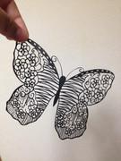 切り絵 蝶々