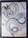 切り絵「ドラゴンボール 神龍」